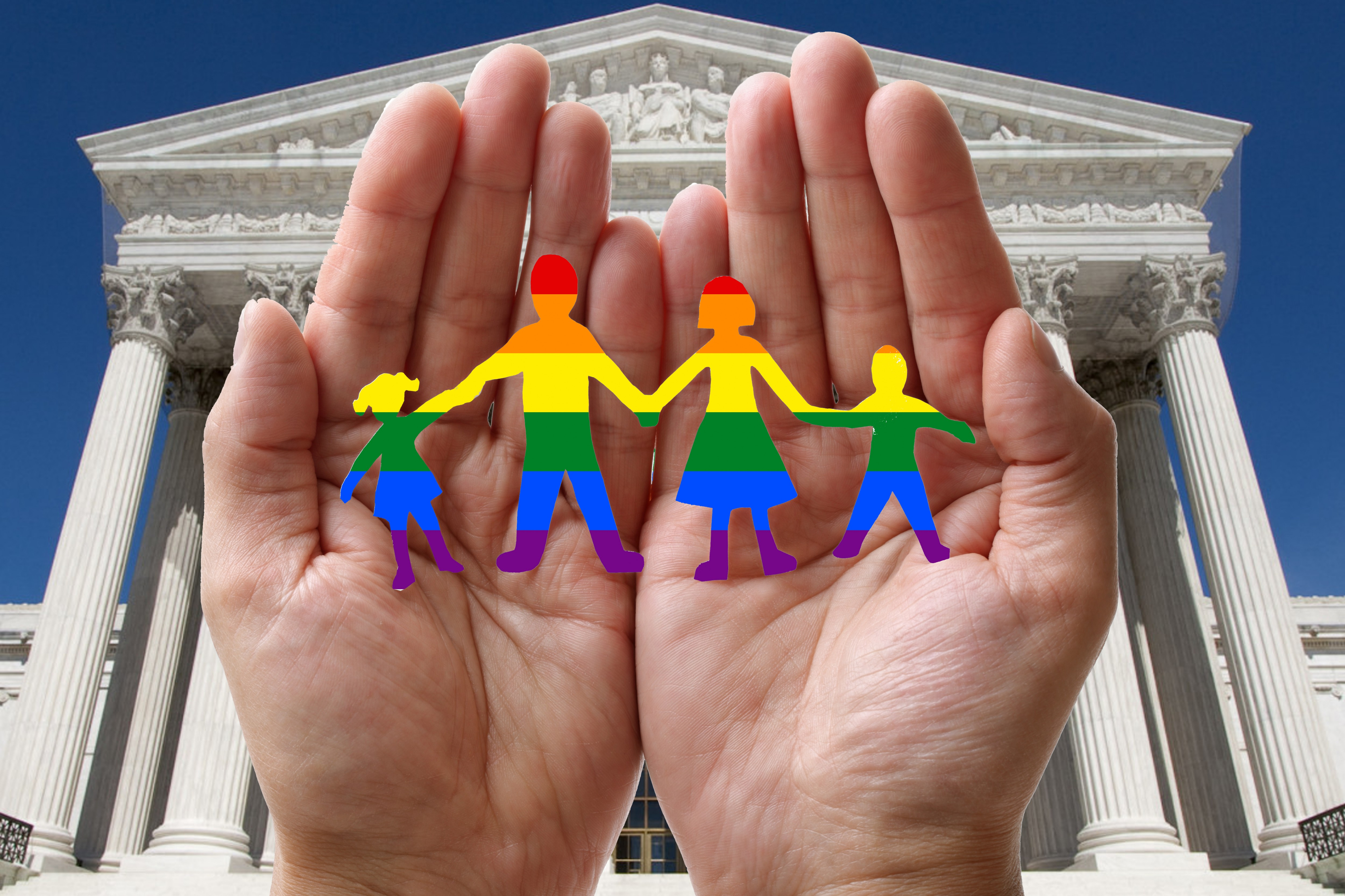 supreme court - paper dolls - rainbow