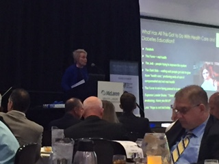 State of the State of Healthcare featured speaker Susan Dentzer, President and CEO of The Network for Excellence in Health Innovation.