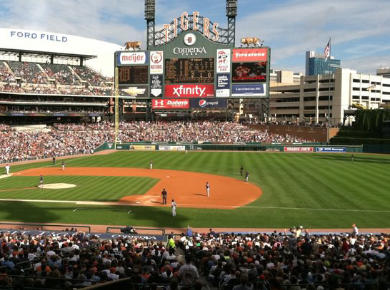 Photo of Comerica Park Ford Field