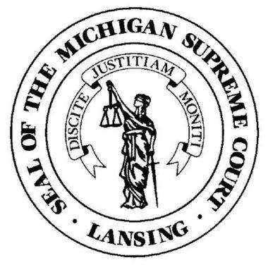 MI Supreme Court Seal