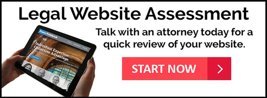 Legal Website Assessment